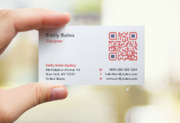 Scroll Down To See QR Code Use Cases Cartes De Visite